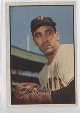 1953 Bowman Color - [Base] #96 - Sal Maglie