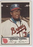 George Crowe [Good to VG‑EX]