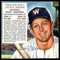 Jackie Jensen (Contest Expires March 31, 1954) [EX]