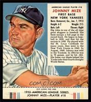 Johnny Mize (Contest Expires March 31, 1954) [EX]