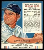 Johnny Mize (Contest Expires March 31, 1954) [FAIR]