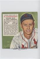 Red Schoendienst (Contest Ends May 31, 1954) [Poor to Fair]