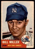 Bill Miller (Bio Information in Black) [VGEX]