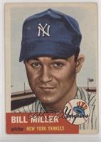 Bill Miller (Bio Information in Black)