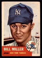 Bill Miller (Bio Information in White) [GOOD]