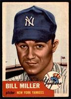 Bill Miller (Bio Information in White) [VG]
