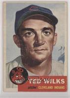 Ted Wilks (Bio Information in White)
