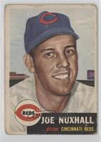 Joe Nuxhall (Bio Information in White) [Poor to Fair]