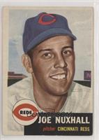 Joe Nuxhall (Bio Information in White)