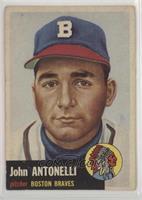 Johnny Antonelli (Bio Information in White)