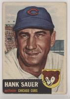 Hank Sauer (Bio Information in Black) [Good to VG‑EX]