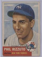 Phil Rizzuto (Bio Information in Black) [Poor]