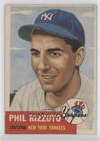 Phil Rizzuto (Bio Information in White)