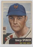 George Spencer (Bio Information in Black)