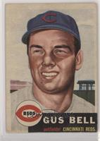 Gus Bell (Bio Information in White)