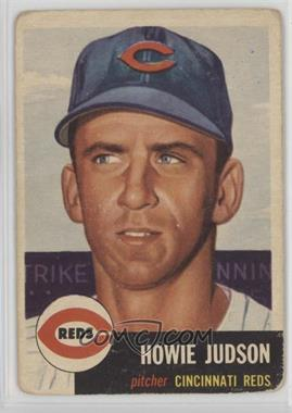 1953 Topps - [Base] #12 - Howie Judson [Poor]