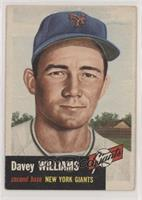 Davey Williams (Bio Information in White) [GoodtoVG‑EX]