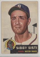 Sibby Sisti (Bio Information in White)