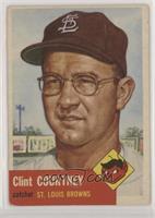 Clint Courtney (Bio Information in White)