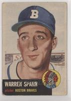 Warren Spahn (Bio Information is White) [NoneGoodtoVG‑E…