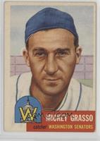 Mickey Grasso (Bio Information is Black)