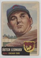 Dutch Leonard [GoodtoVG‑EX]
