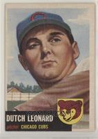 Dutch Leonard (Bio Information is White) [NonePoortoFair]