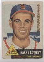 Harry Lowrey [Poor to Fair]
