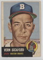 Vern Bickford (Bio Information is White) [Poor]