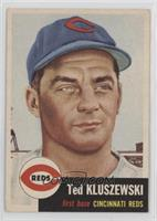 Ted Kluszewski (Bio Information is White) [Good to VG‑EX]