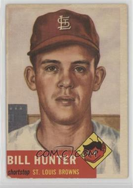 1953 Topps - [Base] #166 - Billy Hunter [Poor to Fair]