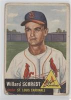 Willard Schmidt [Poor to Fair]