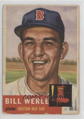 1953 Topps - [Base] #170 - Bill Werle [Poor]