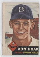 Don Hoak [Poor]