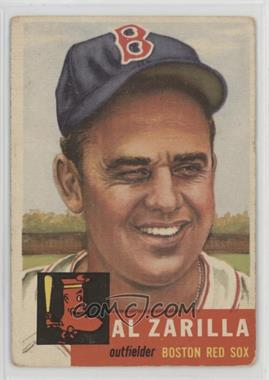 1953 Topps - [Base] #181 - Al Zarilla [Poor to Fair]
