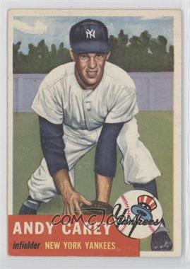 1953 Topps - [Base] #188 - Andy Carey