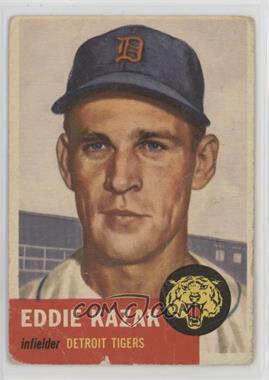 1953 Topps - [Base] #194 - Eddie Kazak [Poor]