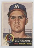 Del Crandall [Good to VG‑EX]