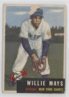 High # - Willie Mays [Poor to Fair]
