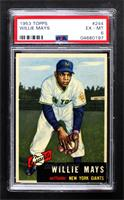High # - Willie Mays [PSA 6 EX‑MT]