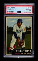 Willie Mays [PSA 2.5 GOOD+]