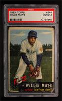 Willie Mays [PSA 2]