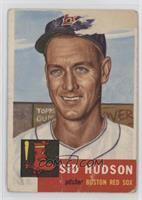 High # - Sid Hudson [Poor]