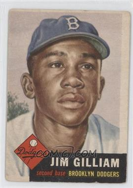 1953 Topps - [Base] #258 - Jim Gilliam