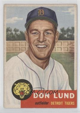 1953 Topps - [Base] #277 - Don Lund