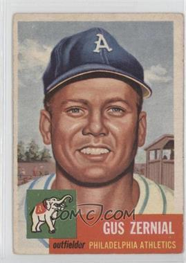 1953 Topps - [Base] #42 - Gus Zernial [GoodtoVG‑EX]