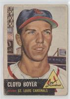 Cloyd Boyer [Poor to Fair]