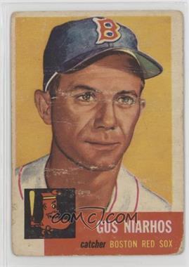 1953 Topps - [Base] #63 - Gus Niarhos [Poor]