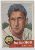 Fred Hutchinson (Bio Information in Black)