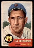 Fred Hutchinson (Bio Information in White) [GOOD]